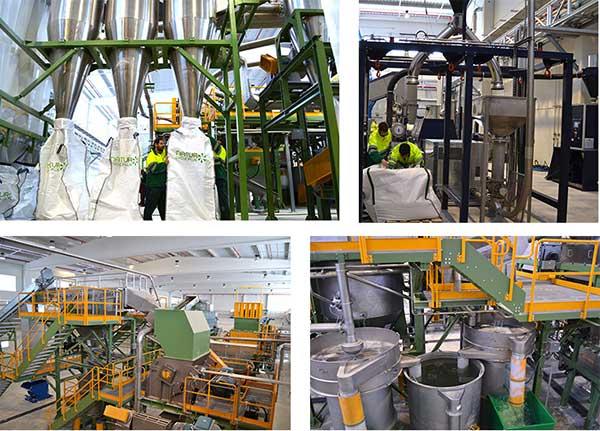 récupération, classification, traitement et transformation du polyéthylène basse densité