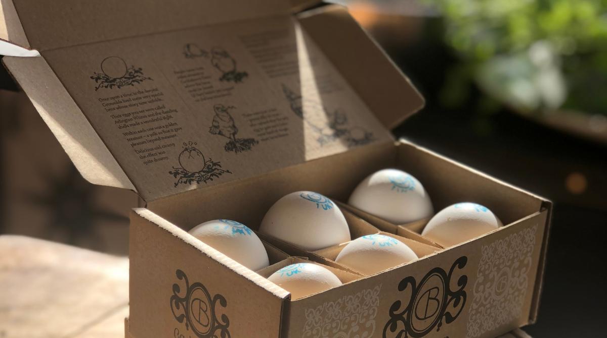 Saica Pack's Cacklebean Box
