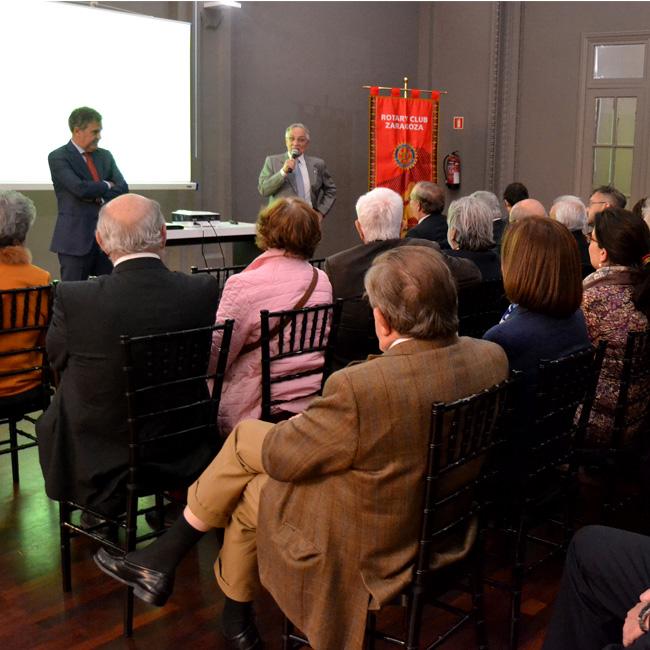cycle de conférences organisée par le Rotary Club de Saragosse