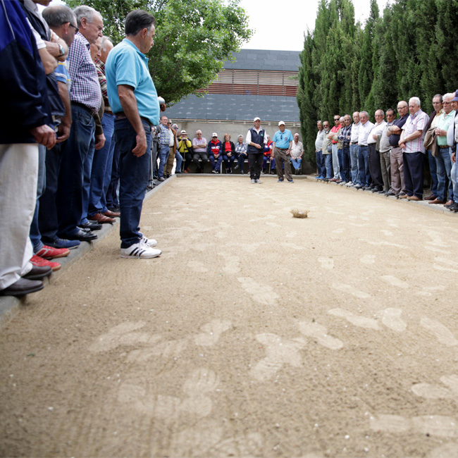 The 12th edition of the Boules Tournament in the Arrabal Festivities