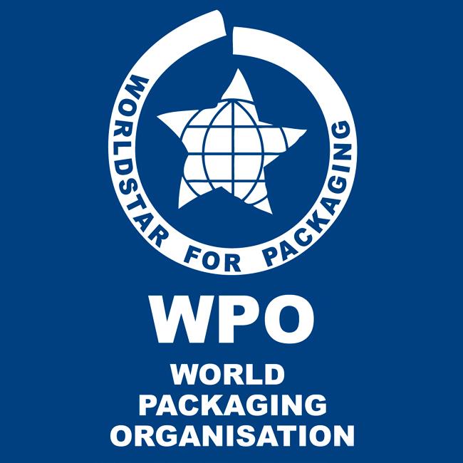 world for packaging logo
