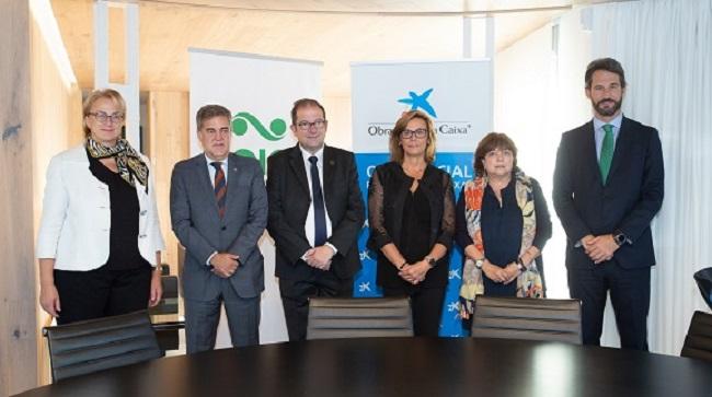 CaixaBank y el Grupo Saica