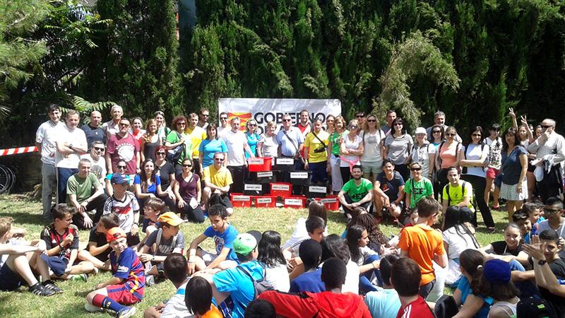 People at Tío Jorge Park