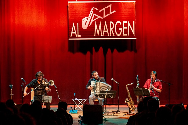 musicians at AL Margen Jazz festival